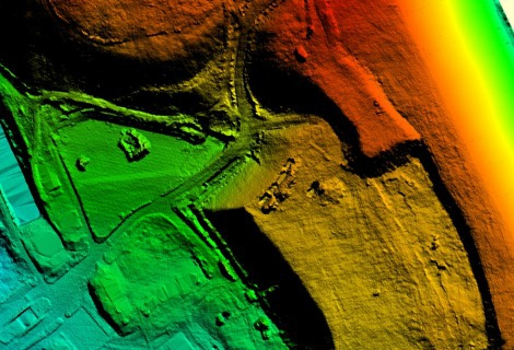 Aerial laser scanning of the territory of Lithuania